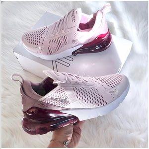 ⚡️Custom Nike Bling Air Max 270 (Barely Rose)⚡️